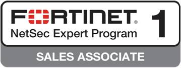 Fortinet NetSec Expoert Program 1 - Sales Associate