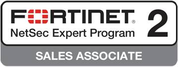 Fortinet NetSec Expoert Program 2 - Sales Associate